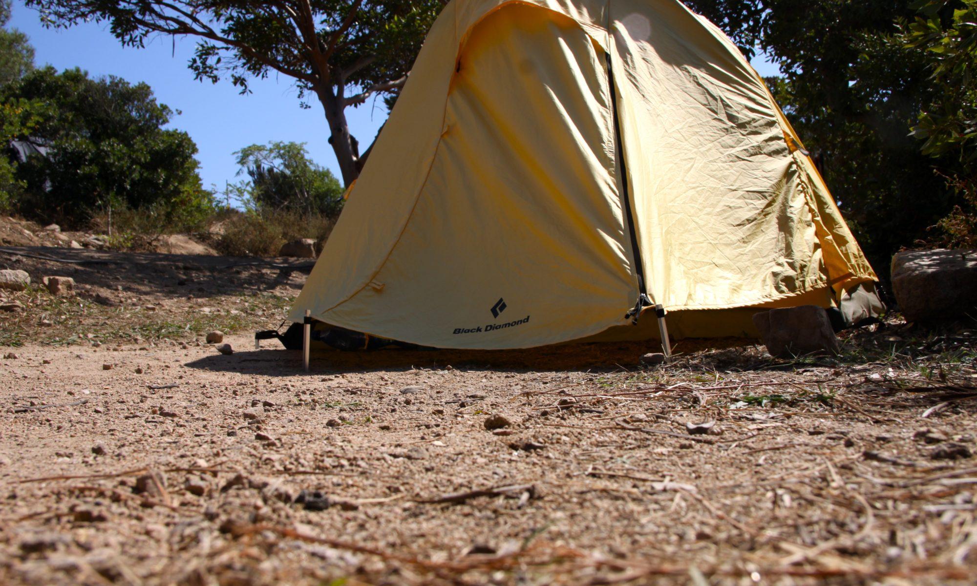 Zelt Korsika 3 : Camping auf korsika mit dem zelt der insel