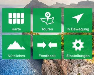 KOMPASS-Mallorca Wandertouren- und Karten-App
