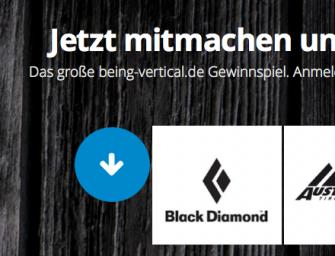 being-vertical.de – Launched neue Boulder und Kletterplattform mit großem Gewinnspiel